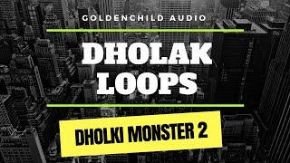 Dholki Monster 2 | Dholak loops (Sample Pack Demo)