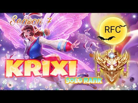 (RoV)Krixi : ใครบอกแรงค์สูงๆเค้าไม่ใช้ Solo Rank Con ซะเลย