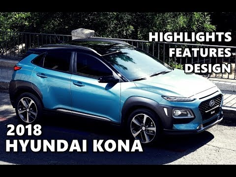 2018 Hyundai Kona Design, Interior, Features