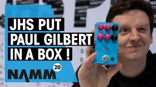 JHS NAMM 2020   New Paul Gilbert PG-14 signature pedal   Thomann