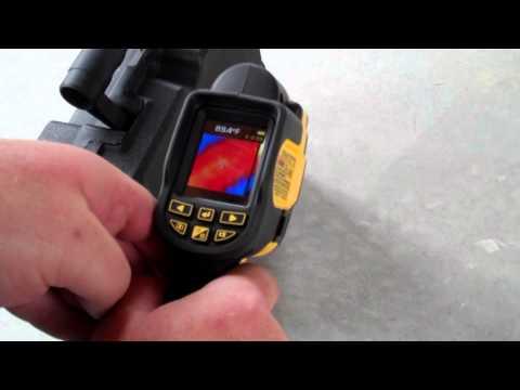 DEWALT DCT416 Thermal Imaging Camera Preview