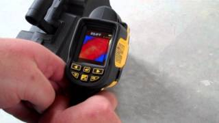 DEWALT DCT416 Thermal Imaging Camera Preview