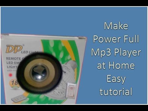 Make Mp3 Player Easy at home