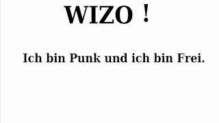 Wizo-Ich bin Punk und ich bin frei