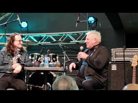 Geddy Lee and Alex Lifeson Rush Fan Day