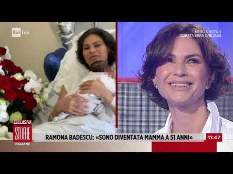 Ramona Badescu: mamma a 51 anni - Storie italiane 10/09/2020
