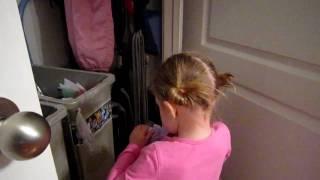 Emmy Starts Potty Training
