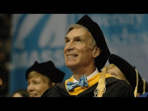 Bill Nye, The Science Guy - UMass Lowell 2014 Commencement M