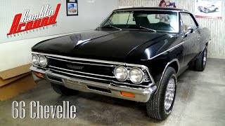1966 Chevrolet Chevelle 383 Stroker V8 Four-Speed