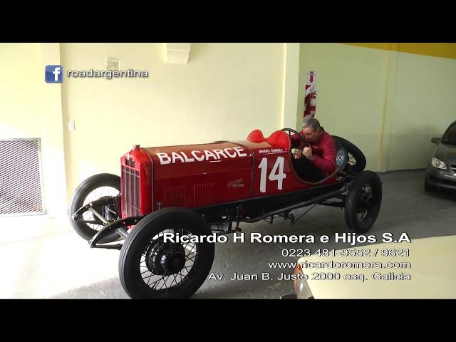 Ricardo H Romera  -  Parte de su Historia