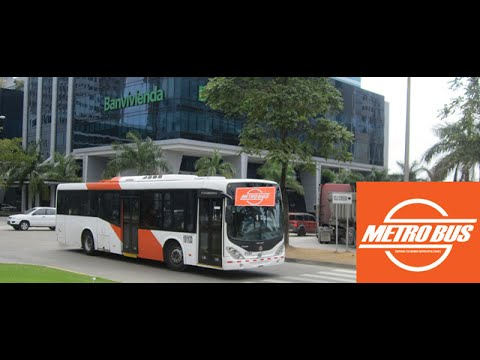 Panama City: Riding the Metro Bus From Parque Lefevre to Coco del Mar