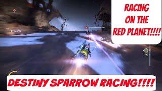 Destiny - Sparrow Racing: Campus Martius - Meridan Bay, Mars - JPlays Part 2