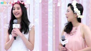 結婚情報誌「ゼクシィ」の新CM&CMソング発表会が都内で行われ、8代目C...
