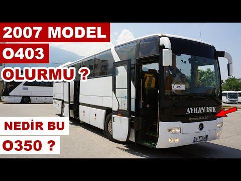 2007 Model O403 Olur mu ? / Dar Alanda İlk Kez Otobüs Kullandım !
