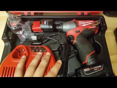 MILWAUKEE    M12™ FUEL™ 3/8 IN. IMPACT WRENCH KIT REVIEW (2454-22)
