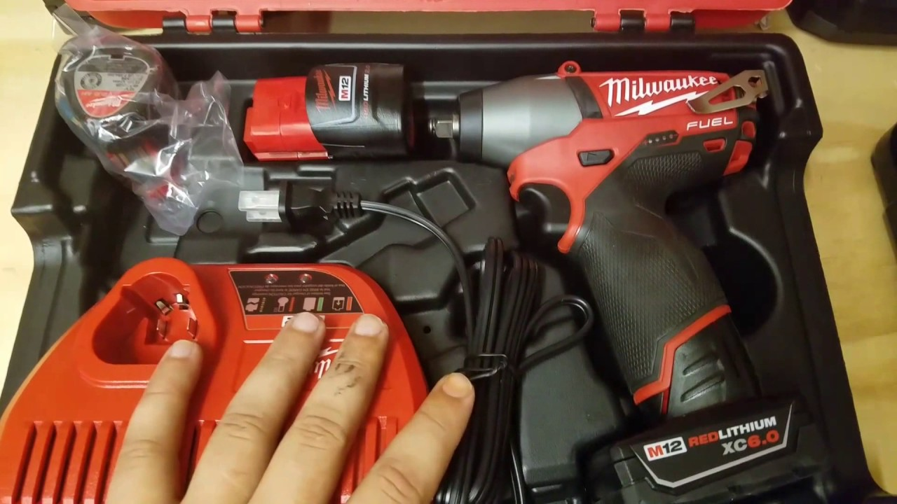 Milwaukee M12 Fuel 3 8 In Impact Wrench Kit Review 2454 22