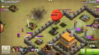 COC (Clash Of Clans) Fucking Trap And Fail Wall breaker
