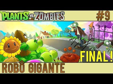Plants vs. Zombies #9 - Robô Gigante - EPISÓDIO FINAL