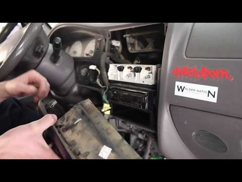 2001-2004 Toyota Tacoma How To: Center Dash Removal
