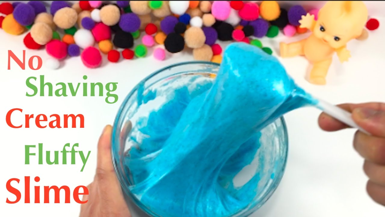 Diy fluffy slime without shaving cream how to make slime with diy fluffy slime without shaving cream how to make slime with hand soap ccuart Choice Image
