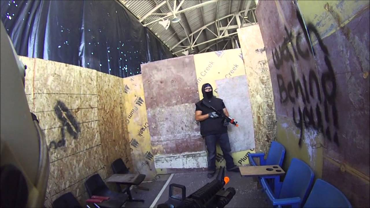 dmzairsoft DMZ Airsoft 2014 - YouTube