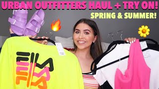 HUGE URBAN OUTFITTERS TRY ON HAUL! (I'm 100% broke now) *spring break 2019*