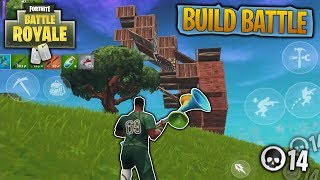 INTENSE BUILD BATTLE WITH THE NEW WORLD CUP SOCCER SKIN! 14 Kill Fortnite Mobile Game