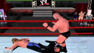 WWF Attitude (N64) - Steve Austin vs. Triple H