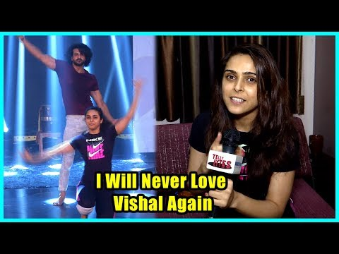 madhurima-tuli-don't-want-to-perform-with-vishal,-wants-to-quit-the-show