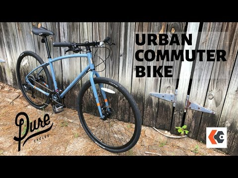 Pure Cycles Urban Commuter Bike | Cruiser Styling + Commute Friendly