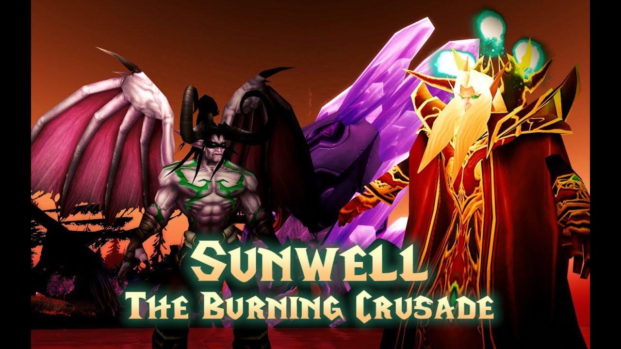 Sunwell - Nightbane TBC Realm Megnyitó + Magyar Guild