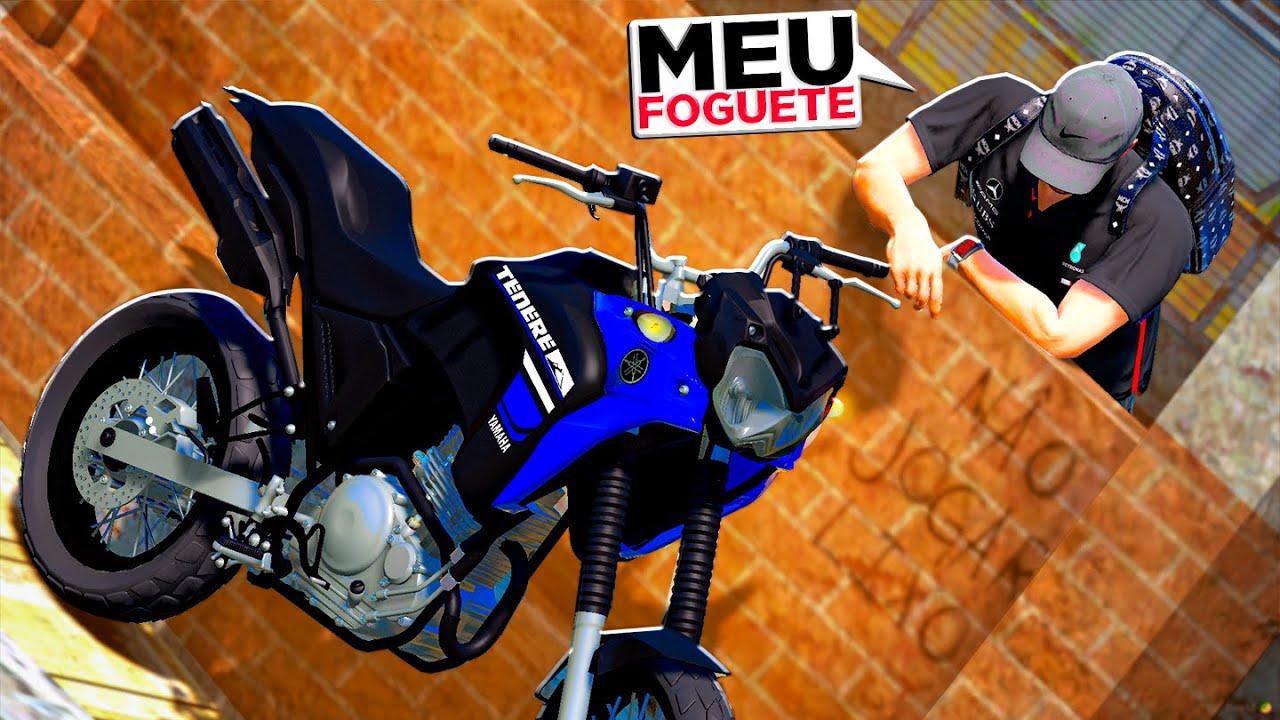 CONSEGUI RECUPERAR MINHA MOTO | GTA 5 VIDA REAL #169