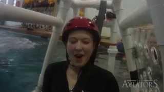 Aviators QUICK CLIP: Sara Learns to Escape an Inverted Floatplane