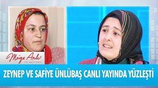 Zeynep ve Safiye Ünlübaş canlı yayında yüzleşti! -