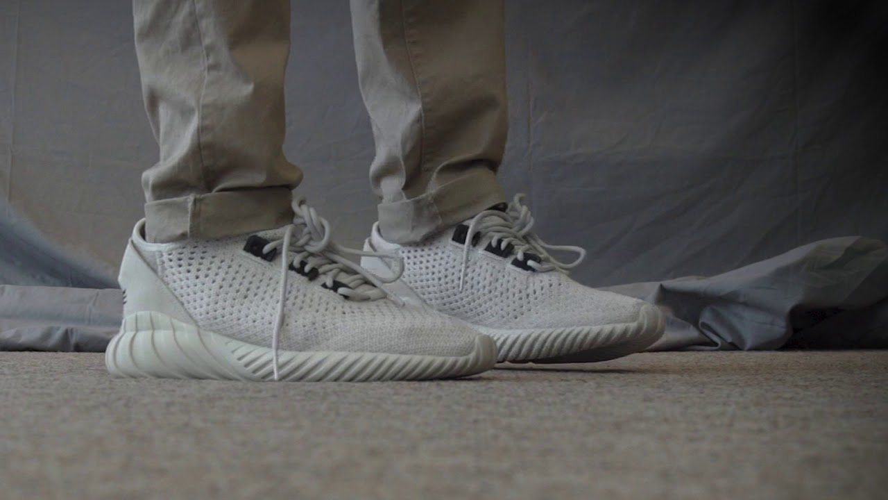 94aa96dc65ce ADIDAS TUBULAR DOOM SOCK PRIMEKNIT UNBOXING    ON FOOT    REVIEW ...