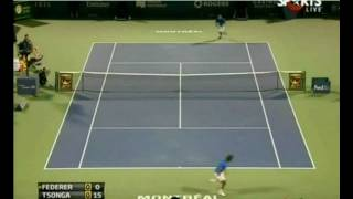 Roger Federer - KING of 4 Aces in a Row ( 6 TIMES in his Career)