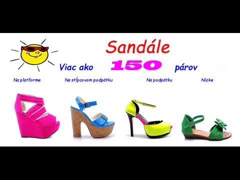 31baa41ea6d4c Lacné dámske sandále: na platforme, na podpätku. Lacné dámske sandále Cosmo  Mall Výpredaj