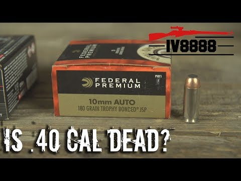 Firearms Facts: Is .40 Caliber Dead?