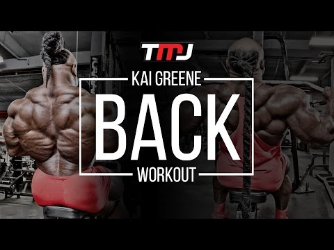 Kai Greene Back Workout | In The Gym With Team MassiveJoes | Coliseum Gym 14 September 2016