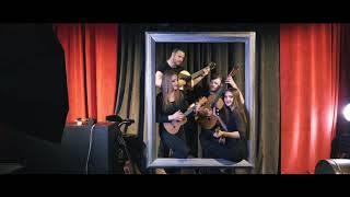 Latino hudba - kytarove kvarteto s ukulele | Kenning Productions
