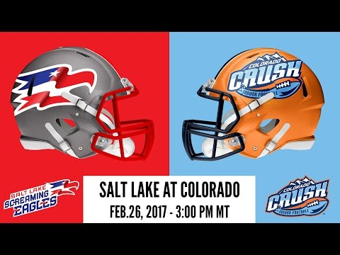 Salt Lake Screaming Eagles at Colorado Crush