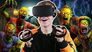HOUSE OF THE DEAD IN VIRTUAL REALITY?! | Drop Dead VR (Oculus Touch Gameplay) #1