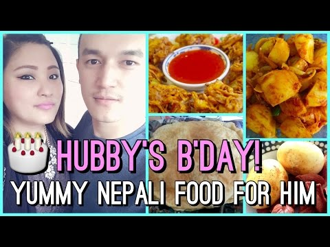 Hubby's Birthday, Yummy Nepali Food for Him, I Got A Package & More!