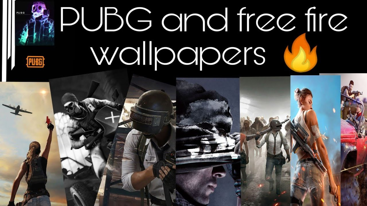 Pubg Free Fire Wallpapers Mobile Pc Download It Now Youtube