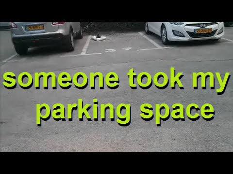 how to leave a parking space