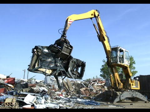 Method of destroying old automobiles in Japan | Large capacity machines #2