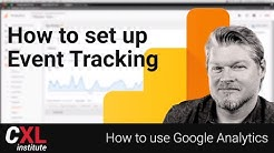 How to use Google Analytics - Track important behaviors! How to setup events in Analytics
