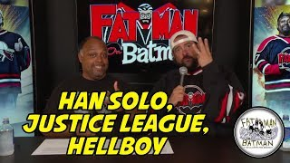 HAN SOLO, JUSTICE LEAGUE, HELLBOY