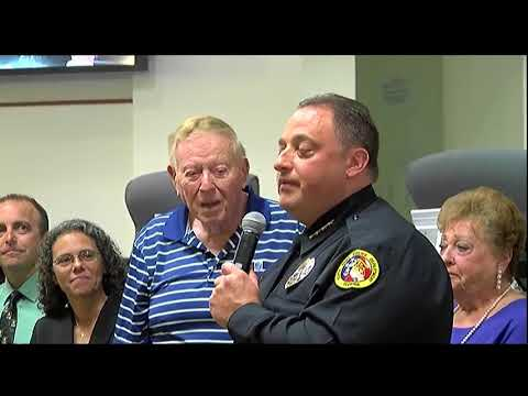 Video: Todd Garrison sworn in as police chief of North Port