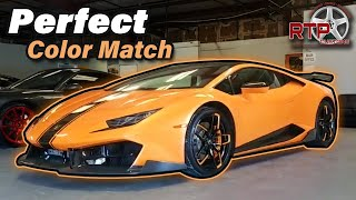 How to Perfectly Color Match a Lamborghini Huracan Wheel with Powder Coat